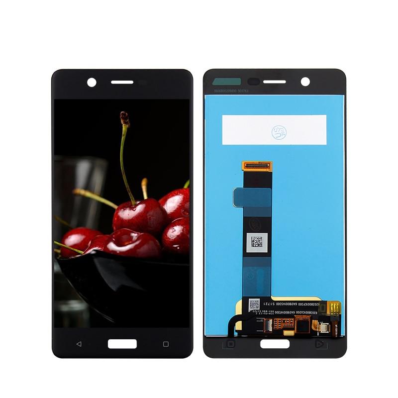 100% probado para Nokia 5 N5 TA-1008 TA-1030 TA-1053 pantalla Lcd con pantalla táctil digitalizador Asamblea reemplazo de piezas de herramientas libres