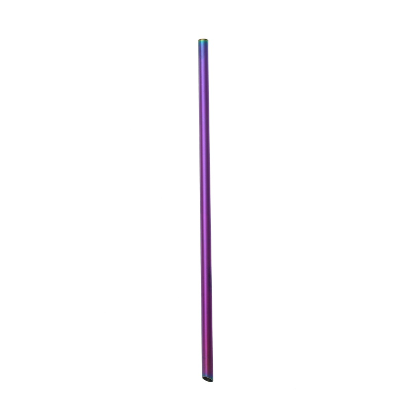(with 1 Cleaner Brush )titanium Straws Titanium Bend Straw Kitchen Outdoor Camping Drinking Family And Holiday Gift Straws