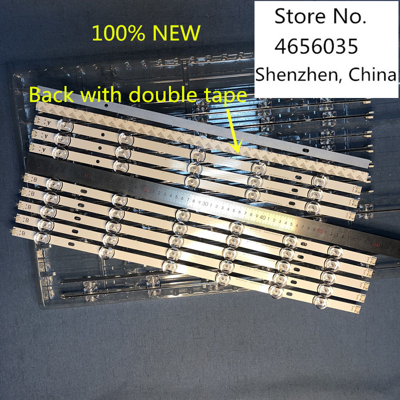 "Image 3 - 10 PCS 100% NEW 6916L 1833A 1834A 6916L 1989A 1990A 6916L 1991A 1992A LED backlight bar for LG 55LB5900 Innotek DRT 3.0 55""_A/B-in LED Bar Lights from Lights & Lighting"