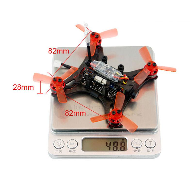 Kingkong 90GT 2.4g FPV RC micro interior mini drone brushless ...