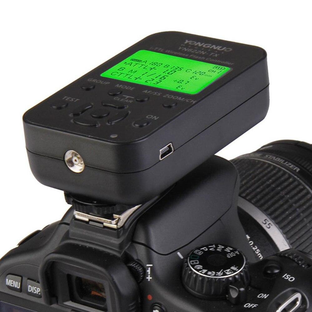 YONGNUO YN622N-TX YN-622N-TX 622N-TX LCD Wireless TTL HSS Flash Controller Transmitter For Nikon Support YN568EX YN-568EX YN685N yongnuo yn622n tx transmitter controller yn 622n transceiver yn622n kit wireless ttl hss 1 8000 flash trigger for nikon