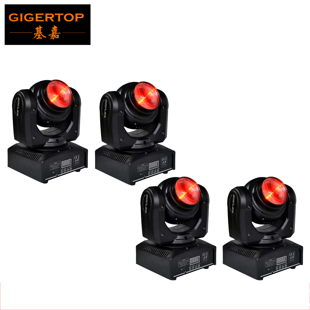 Freeshipping 4pcs/lot 40W Led Moving Head Light Stage Super Beam Effect USA LumiEngin CU RGBW Led Lamp 55W 110V-240V DMX 7/16 CH
