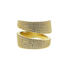 gold color micro pave cz engagement ring women finger jewelry 2019 european cz big female ring blucome luxury aaa zircon copper ring clear cz micro pave gold color rings for women flower big long section finger ring wedding
