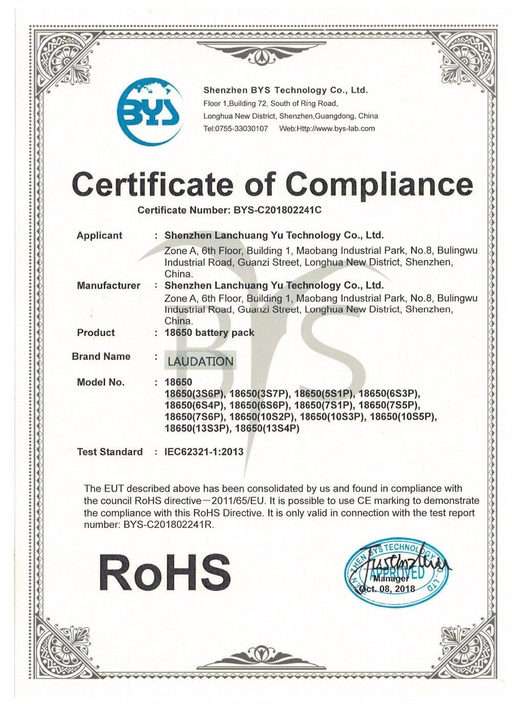 ROHS证书