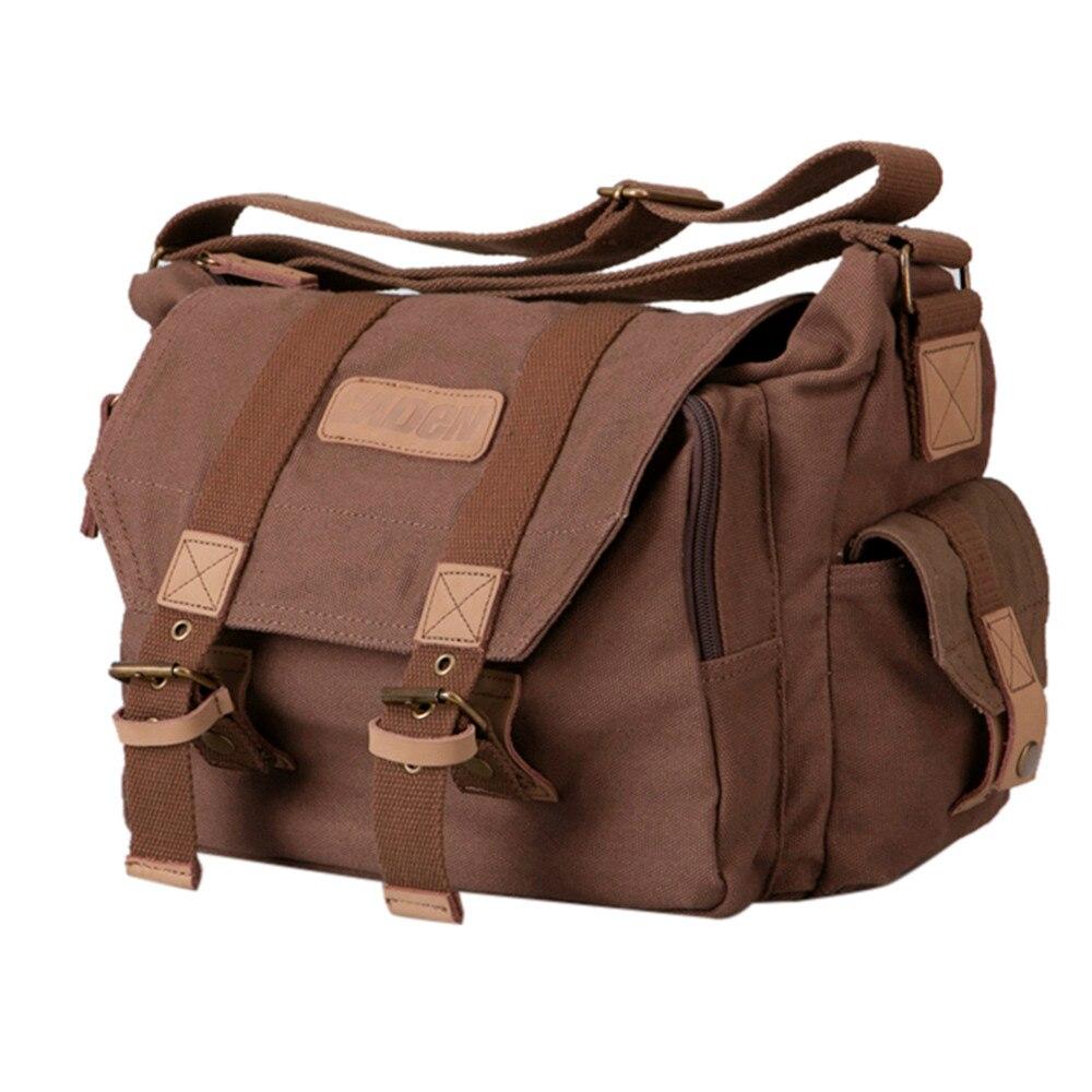 ФОТО Fashion Unisex Messenger Bags Waterproof Casual Women's Handbags Clutch Anti Theft Leisure Canvas Photography Package Men Gift