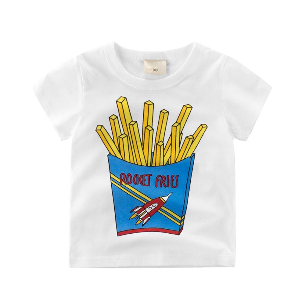 Er-9008 Summer Top Kids Clothes Boys T-shirt Girls Short Sleeve Cartoon T shirt Summer Baby sports Tees Kids TShirt 100% Cotton