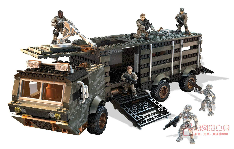 Mega Block Toys Cng05 Terminator Prisoner Transport