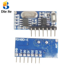 433Mhz RF Receiver Learning Code Decoding Module 433mhz Wireless 4 CH output DIY kit For Remote Control 1527 encoding