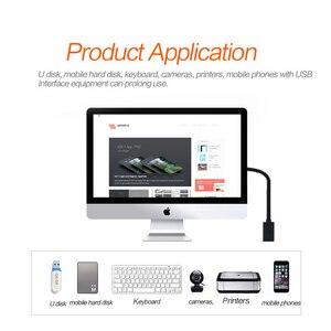 Image 4 - QGeeM USB הארכת כבל כבל USB3.0 זכר לנקבה מאריך נתונים Sync כבל מתאם 1M 3M 2M סעודת מהירות USB 3.0 כבל