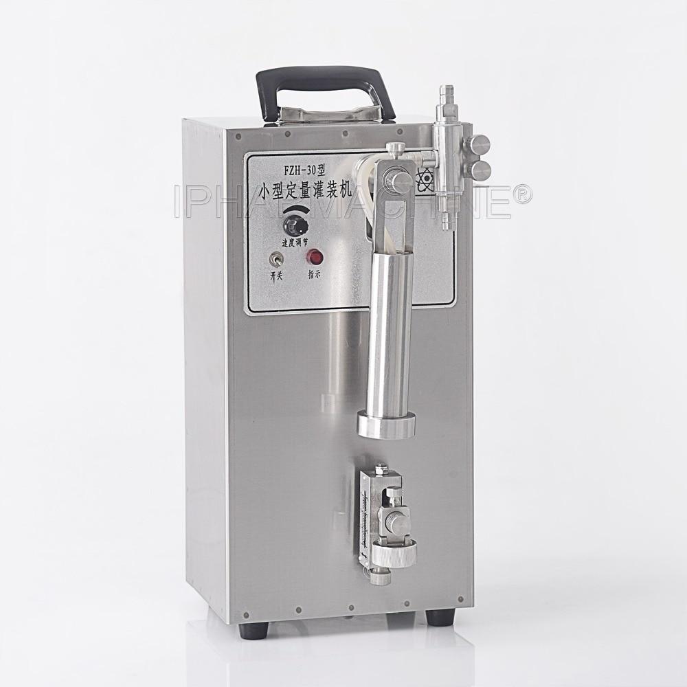 High accuracy Mini liquid filling machine for 0.2-10 ml ( 220V/110V) kc 280 4 5l cnc liquid quantitative filling machine 5ml 3500ml 110v 220v