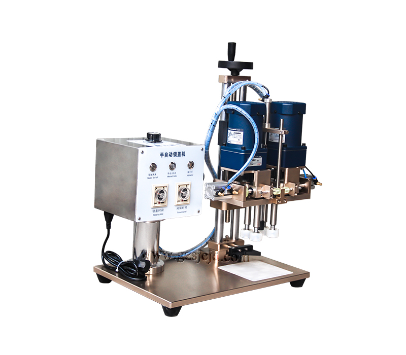 semi-auto electric spray capper capping machine for the Production of Cosmetic, Food,Daily Products,Chemicals pichia for production of same