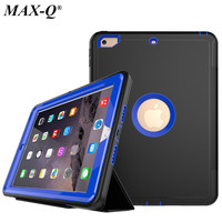 For Funda NEW IPad 2017 Case Cover 9 7 Inch Durable 3 Layers Hybrid Rugged Shockproof