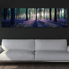 цены Frameless canvas painting Forest Landscape Canvas Print Modern Poster wall art Picture