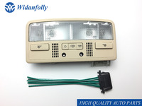 Widanfolly Beige Interior Dome Light Reading Lamp + Cable For Passat B5 Octavia Superb 3BD947105 3B0 3BD 947 105