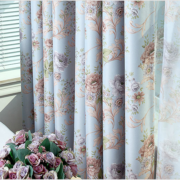 Amazing Aliexpress.com : Buy 2015 New Romantic French Thermal Blackout Curtains For  The Bedroom Rose Red Blue Rideaux 043 From Reliable Curtains For Suppliers  On ...