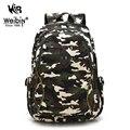 Aou mens mochilas ombro mulheres saco de lona impressão mochilas escolares mochila para adolescentes meninos camuflagem mochila back pack