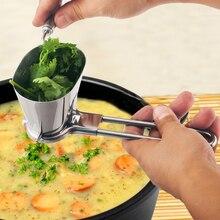 Нержавеющая сталь многофункциональный измельчитель блюдо перемешать нарезанные овощи ручной бытовой кориандр измельчитель еда кухонный гаджет