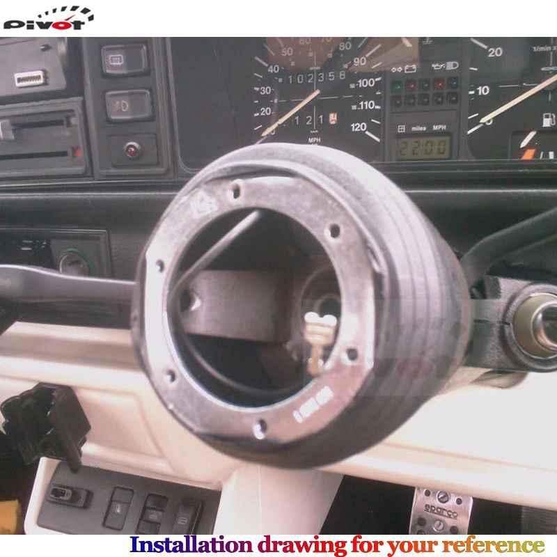 Adaptateur de moyeu de volant Kit de bossage/Kit de bossage adaptateur de moyeu pour Mitsubishi E50-E80 OM141 HUB-OM-141