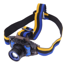 Rechargeable XPE Q5 LED Zoomable Headlamp 3000LM Bright Headlight Head Light 3 Modes Outdoor Head Lamp with Battery + Charger