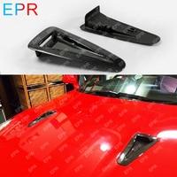 Для Nissan GTR R35 OEM стиль карбоновое волокно вентиляционные отверстия обвес тюнинг часть для R35 GTR воздуховод Совок впускная крышка капот отделк