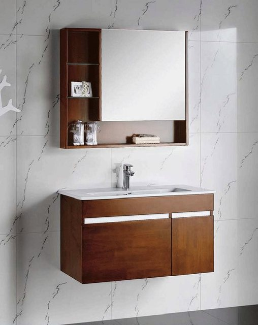 best sale high quality solid wood wall mounted bathroom vanity 0283 1088 - Wall Mounted Bathroom Vanity