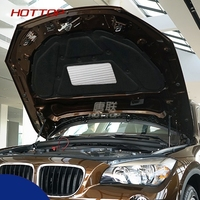 1 PCS Car Hood Engine Sound Insulation Pad Cover thermal Heat Insulation Pad Mat For BMW X1 2010 2015 car accessories