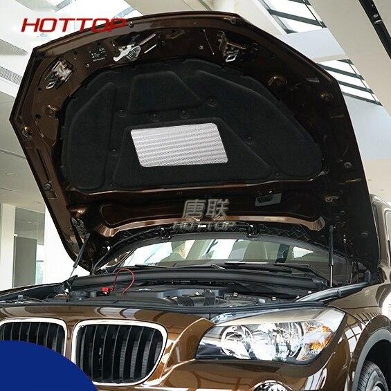 1 pièces capot de voiture moteur isolation phonique Pad couverture thermique isolation thermique Pad Mat pour BMW X1 2010-2015 accessoires de voiture