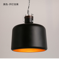 Американский стиль Лофт лампа винтажная промышленная подвеска подсветка индивидуальность кованые подвесные лампы для ресторана Арт Деко