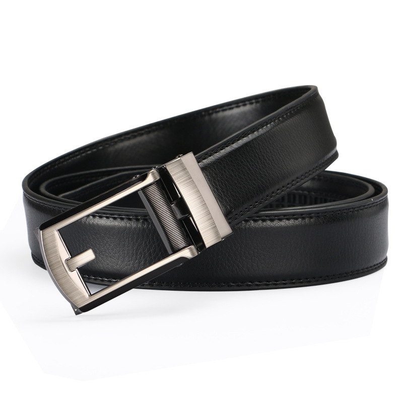 2019 Mens Fashion Designer Popular Belt Leather Casual Luxury Business Male Belts Automatic Buckle Men Black Brown Belt