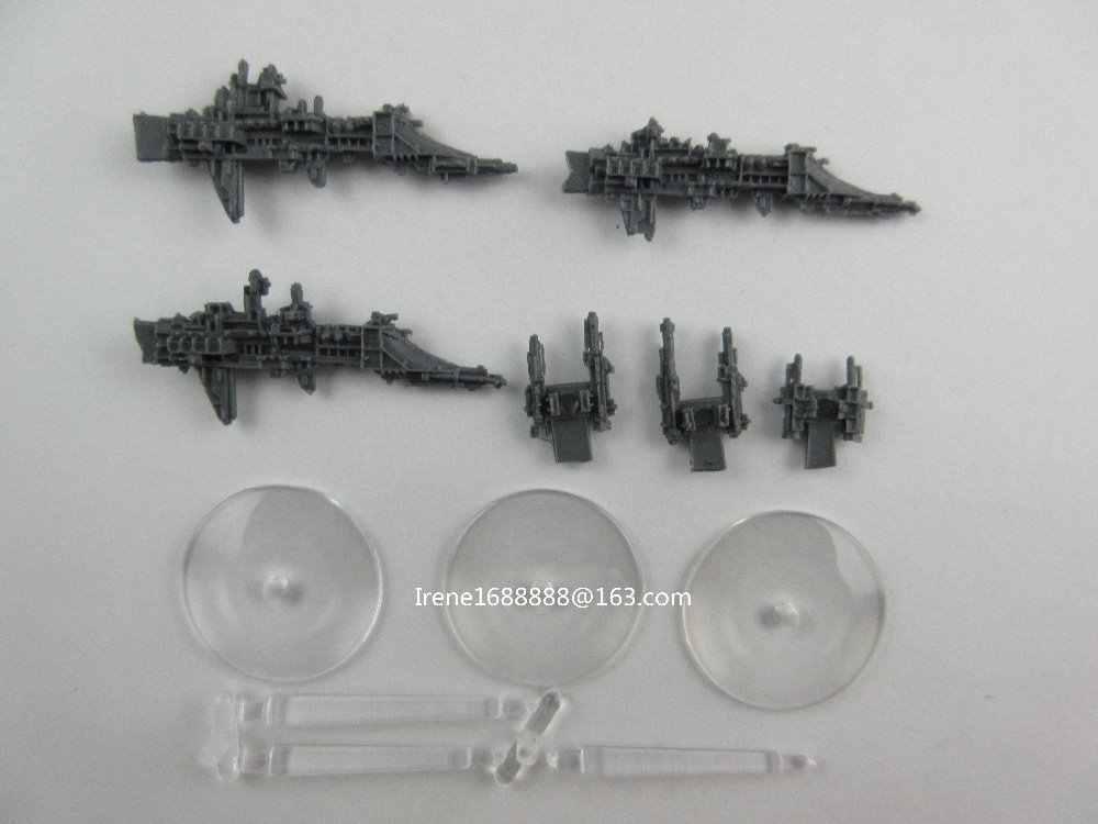Смола Модели Battlefleet Gothic Имперской Firestorm Фрегатов Класса x3 Бесплатная Доставка