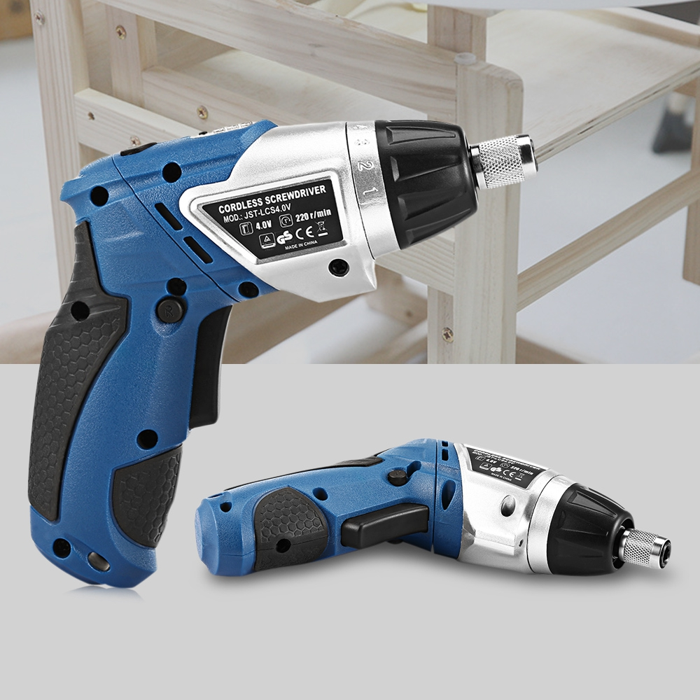 Multifunctional Electric Screwdriver 180 Degree Rotation Rechargeable Electric Drill bits Electric Screwdriver Set Power tools impact drill bits drill screwdriver combination of equipment masonry metal wood multifunctional drill bits