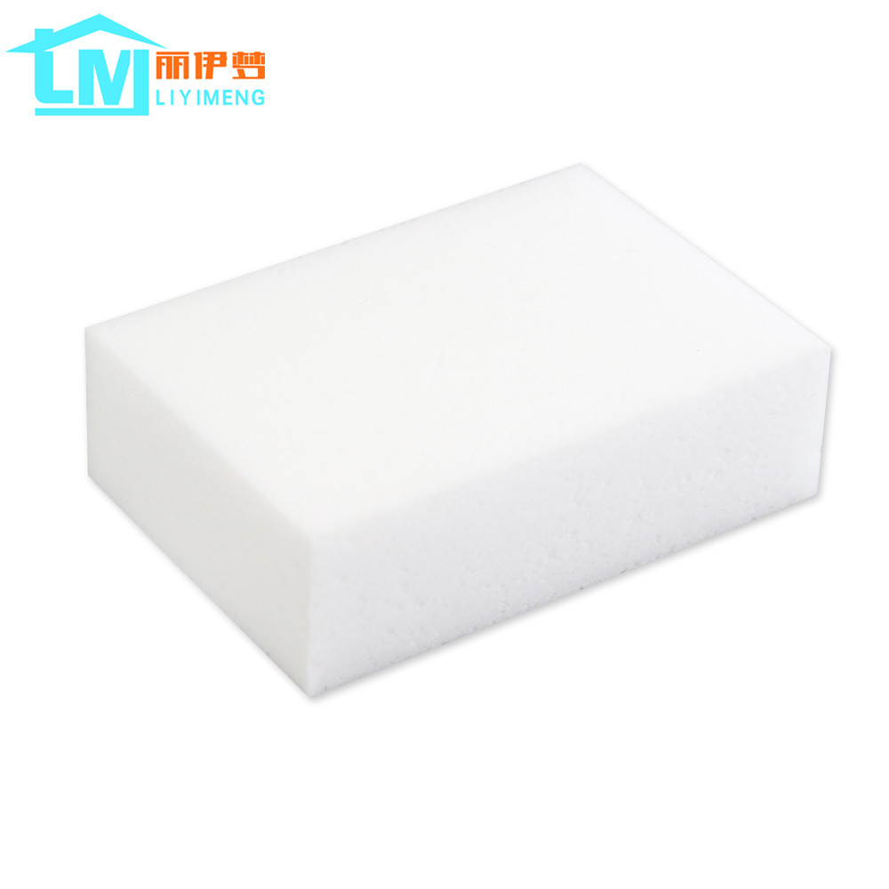 100*70*30mm 200 pcs White Magic Sponge Eraser Kitchen Office Bathroom Clean Accessory/Dish Cleaning Melamine Sponge Nano