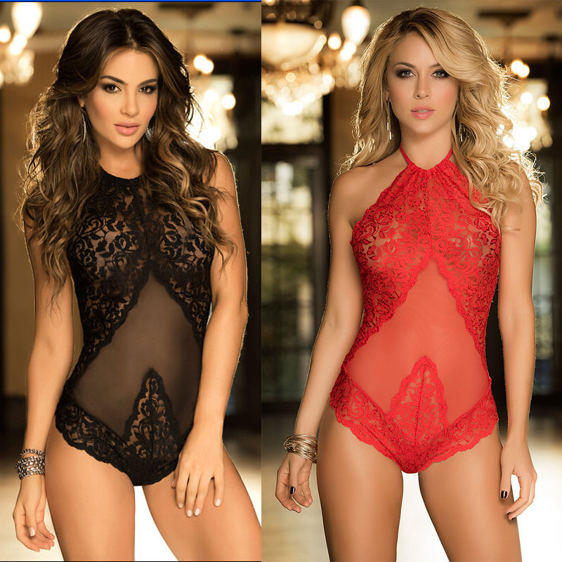 2018 Fashion Sexy Lingerie Valentines Day Bustier Chest Wear Erotic Female Pajamas Women