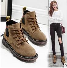 2017 new font b women s b font shoes font b boots b font nubuck leather