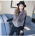 Faux Fur Vest Fashion Faux Fur Coats Women Sleeveless Pink fur Jacket Gilet Fourrure manteau femme faux fur vests S-4XL