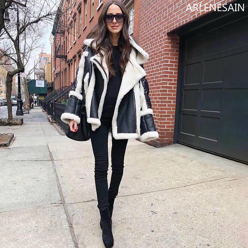 Espace Fourrure noir Hiver Cool Nouveau Manteau Argent De Aussie Arlenesain Une Femmes 2018 Personnalisé Moutons xHp4Y4