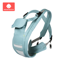 Ergonomic Baby Carrier Multifunctional Front Facing Newborn Sling Backpack Adjustable Breathable Infant Kangaroo Safety Carrier