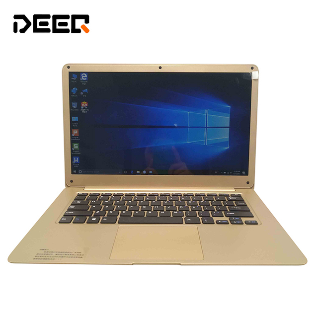 NEW 14 inch laptop Without Shipping, high quality ultrabook 4GB/64G with Windows 10,Notebook PC extend free mouse gifts.