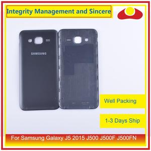 Image 5 - 50Pcs/lot For Samsung Galaxy J5 2015 J500 J500F J500FN J500H Housing Battery Door Rear Back Cover Case Chassis Shell Replacement