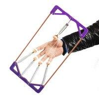 Hand Finger Force Trainer Adjustable Distance Sportsmen Fingers Exerciser Hand Muscle Developer Workout Equipment For Home