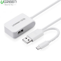 Ugreen Mi4 2 USB Micro USB OTG Adapter For Huawei P8 Mate 8 OTG Hub For