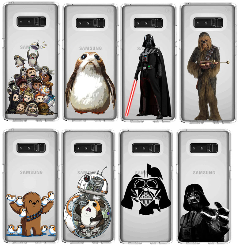 fashion Soft silicone TPU Star Wars Phone <font><b>Case</b></font> For <font><b>Samsung</b></font> A30 S10LITE S9 <font><b>S7</b></font> S8 S9PIUS S7EDGE 2018A8 A6 NOTE9 NOTE8 A6PIUS image