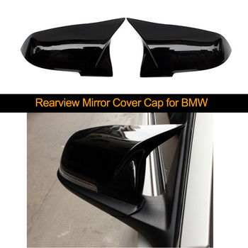 1 Pair Car Rearview Mirror Cover Cap for BMW 1 2 3 4 X M Series 220i 328i 420i F20 F21 F22 F23 F30 F32 F33 F36 X1 F87 E84 X1 M2