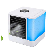 Personal Air Cooler Portable Air Conditioner Fan USB Mini Air Condition Office Desktop Cooling Fan Summer Cooling Artifact Gifts