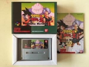 Image 1 - 16Bit Oyunları ** dragon topu Z Ultime Menace (Fransız PAL Versiyonu!! Kutu + Manuel + Kartuşu!!)