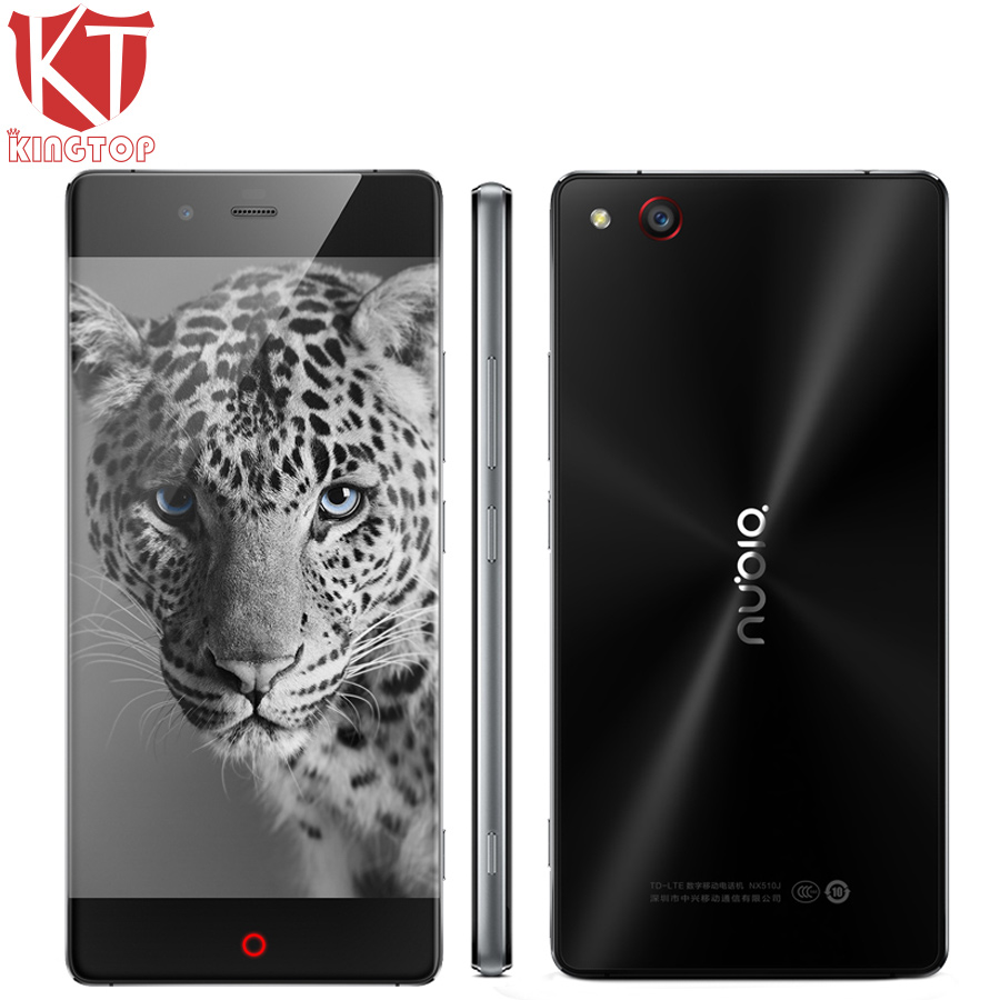 Original ZTE Nubia Z9 Borderless Mobile Phone Snapdragon 810 5 2 Inch 1920X1080 Android 5 0