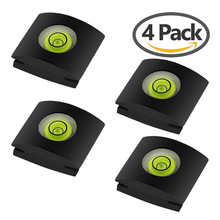 4Pcs/Set Camera Bubble Spirit Level Hot Shoe Protector Cover DR Cameras Accessories For Sony A6000 Canon Nikon eals XR64