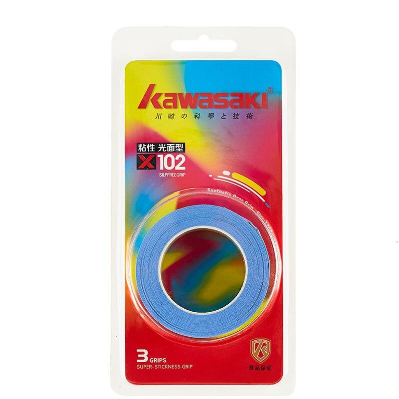 3Pcs/lot Kawasaki Overgrip Anti-slip Breathable Sport Over Grip Sweatband Tennis Overgrips Tape Badminton Racket Grips X102