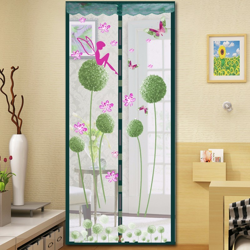 Hot Sale new arrival doors curtain fresh flower mesh mosquito magnetic curtain Anti fly mosquito net & Popular Mosquito Door Net-Buy Cheap Mosquito Door Net lots from ... Pezcame.Com