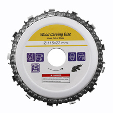 цена на 4.5 Inch Circular Saw Blade Chainsaw Chain Wood Carving Disc Woodworking Angle Grinders Universal For Wood Cutting Discs #